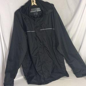 Rain Jacket Black XXL Sierra Sport Waterproof